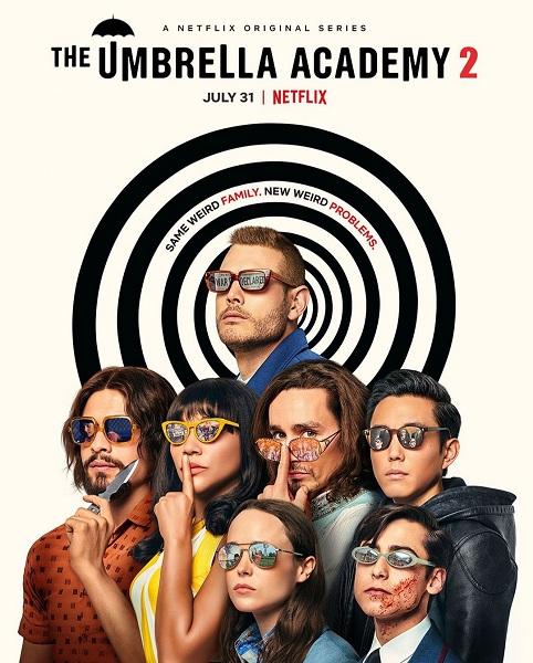 Сериал Академия «Амбрелла» 2 Сезон (2020)
